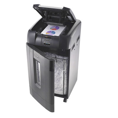 Swingline Stack and Shred Micro-Cut Shredder RCMP APVD 750 SHTS MICRO CUT SHRED SIZE 3MM X 12MM 31 GAL