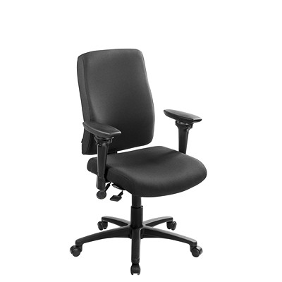 ergoCentric uCentric Ergonomic Mid-Back Task Chair WITH STANDARD SEAT