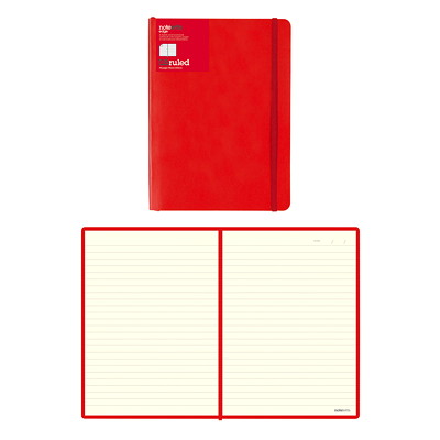 "Letts of London Edge Notebook 192 RULED PAGES  CREAM PAPER 8 1/4"" X 5 13/16"""