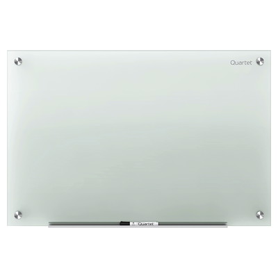 Quartet Infinity Frosted Glass Dry-Erase Board QUARTET INFINITY MARKER BOARDS