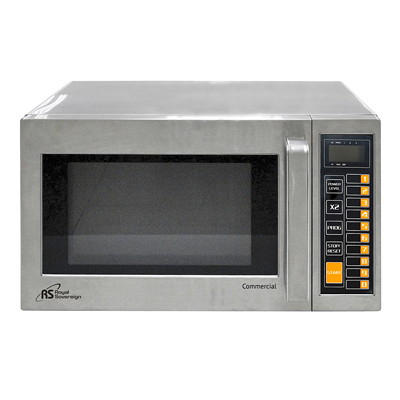 Royal Sovereign Commercial Microwave 0.9 CU FT. STAINLESS STEEL
