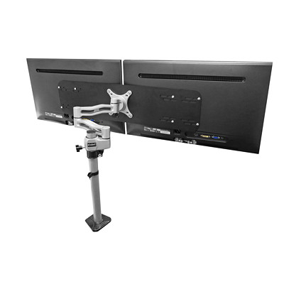 "DAC Single to Dual Adapter CONVERTS SINGLE ARM TO A DUAL MONITORS UP TO 24""  VESA MIS-D"