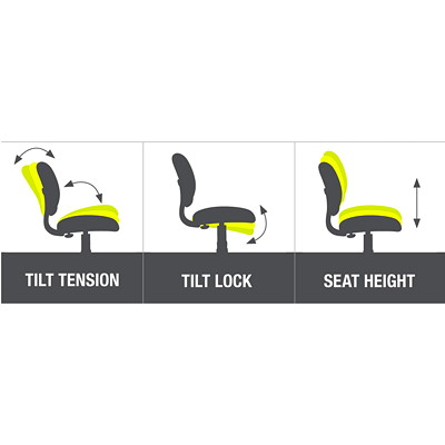 TygerClaw Modern Executive High-Back Office Chair with Integrated Headrest  BLACK BONDED LEATHER SEAT HEADREST