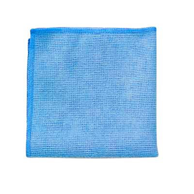 Chiffons en microfibre pour travaux légers Rubbermaid Commercial, 12po x 12po, bleu, emb. de 24 POUR USAGE COMMERCIAL 12 PO X 12 PO  EMB. DE 24