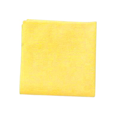 "Rubbermaid Commercial Light Duty Microfibre Cloth, Yellow, 12"" x 12"", 24/PK 12""X12"""