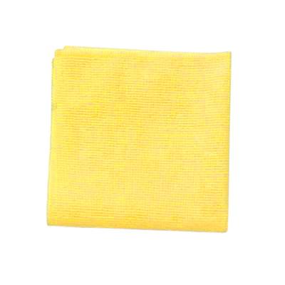Chiffons en microfibre pour travaux légers Rubbermaid Commercial, 12po x 12po, jaune, emb. de 24 POUR USAGE COMMERCIAL 12 PO X 12 PO  EMB. DE 24