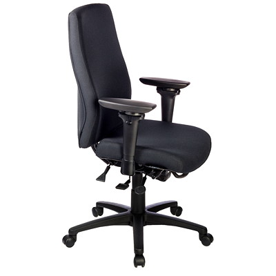 ergoCentric uCentric Ergonomic Mid-Back Multi-Tilter Chair CHAIR WITH LARGE SEAT