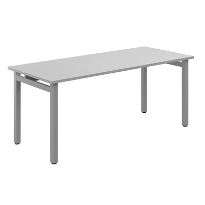 Offices To Go Ionic Table Desk GREY LAMINATE FINISH