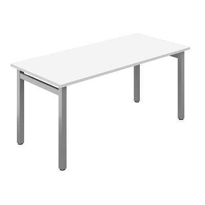 "Offices To Go Ionic Table Desk, Designer White, 48"" x 24"" x 29"" DESIGNER WHITE FINISH 48X24X29 TABLE DESK"
