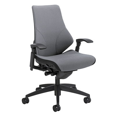 Global Spree High-Back Synchro-Tilter Chair SYNCHRO TILTER  FULLY UPH