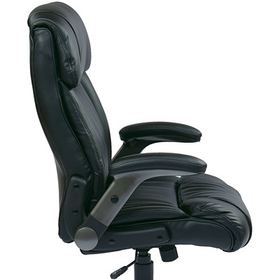 Office Star Work Smart Executive Chair TITANIUM BASE