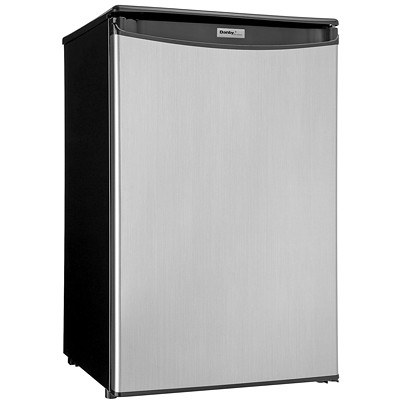 Danby Compact Refrigerator STAINLESS STEEL LOOK FINISH AUTO CYCLE DEFROST