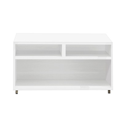 Mayline e5 Storage Cabinet WHITE LAMINATE SILVER PAINT CABINET LOAD CAPACITY 300 LBS
