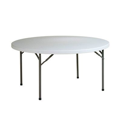 Office Star Worksmart Resin Table LIGHTWEIGHT CONSTRUCTION IDEAL FOR INDOOR/OUTDOOR USE