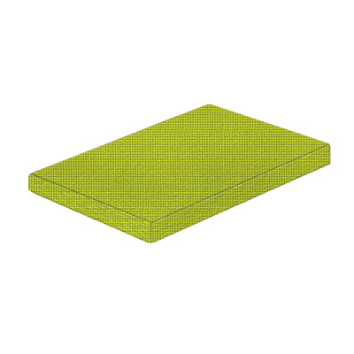 Mayline e5 Box/File Optional Cushion  EXPO SPROUT FABRIC