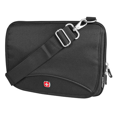 SwissGear Travel Electronic Organizer Bag, Black (SWC0113) FITS TABLETS/IPAD UP TO 10""