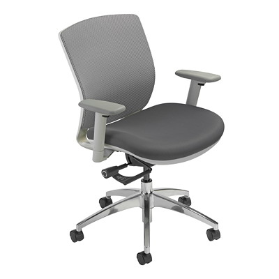 Nightingale VXO Mid-Back Mesh Task Chair MYSTIC C2 GREY