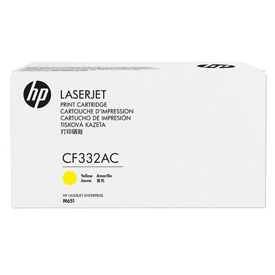 HP 32AC YELLOW LJ TONER CRTG M651 YIELD 15000