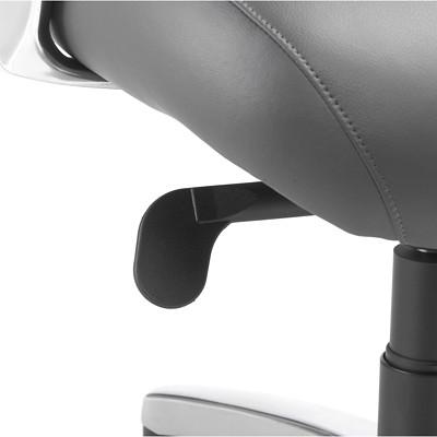 Nightingale Presider Executive High-Back Leather Chair  BLACK