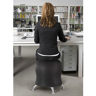 Safco Zenergy Exercise Ball Stool ACTIVE SEATING EXPERIENCE INCLUDES PUMP