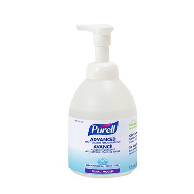 Purell Advanced Moisturizing Foam Hand Sanitizer, 70% Alcohol Content, 535 mL FOAM 535ML