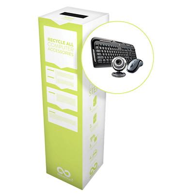 Boîte de recyclage pour accessoires informatiques Zéro Déchet TerraCycle RECYCLER ARTICLES INFORMATIQUE DIMENSIONS  : 11 X 11 X 40