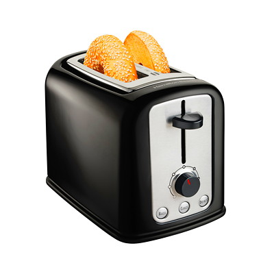 Hamilton Beach Cool-Touch 2-Slice Toaster BLACK  COOL TOUCH