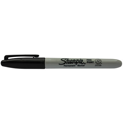 Sharpie Fine-Tip Markers POINT PERMANENT INK WRITES ON MOST SURFACES