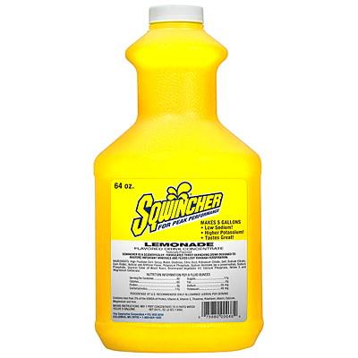 Sqwincher Liquid Concentrate Rehydration Drink, Regular, Lemonade Flavour REHYDRATION DRINK NO STIR LIQUID
