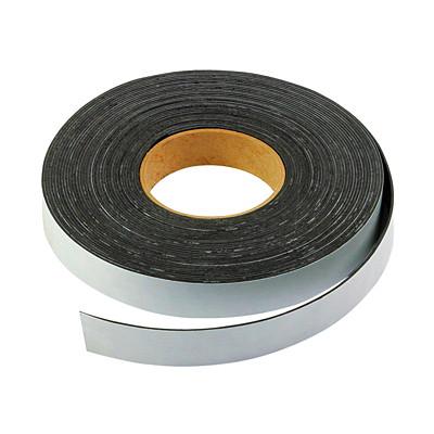 "FileMode Peel-N-Stick Magnetic Tape, Black, 1/2"" x 100'  1/2"" X100'  BLACK"
