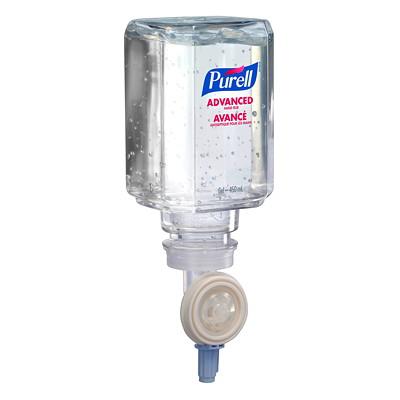 Purell ES Advanced Gel Hand Sanitizer Refill, 70% Alcohol Content, 450 mL 450-ML