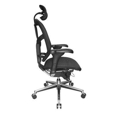 WorkPro PRO Quantum 9000 Series Ergonomic Mesh High-Back Synchro-Tilt Chair with Headrest QUANTUM 9000 SERIES