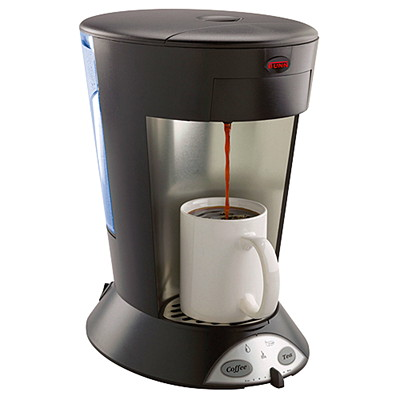 BUNN My Café Commercial Single-Serve Pod Coffee Brewer, Black, Pourover  COMMERCIAL-GRADE  SINGLE-CUP BLACK