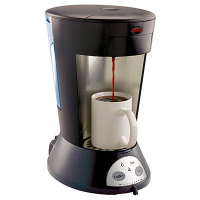 BUNN My Café Commercial Single-Serve Pod Coffee Brewer, Black, Automatic COMMERCIAL-GRADE  SINGLE-CUP BLACK