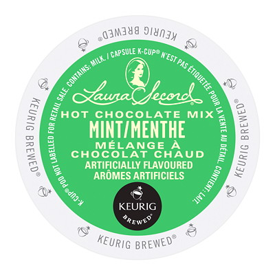 Laura Secord Hot Chocolate Mix Single-Serve K-Cup Pods LAURA SECORD