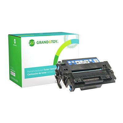 Grand & Toy Compatible LaserJet Toner Cartridge LASERJET P3005 SERIES YIELD 6500  RPL SKU # 97669