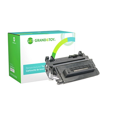 Grand & Toy Reman Toner HP CE390A Black Standard Yield LASERJET ENTERPRISE M601N 10 000 PG YLD  RPL SKU# 98342