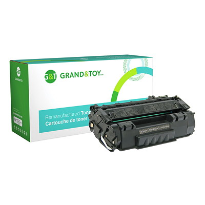 Grand & Toy Compatible LaserJet Toner Cartridge L/J M2727 MFP  P2010  P2014 (53A) YIELD 3 000  RPL # 97685