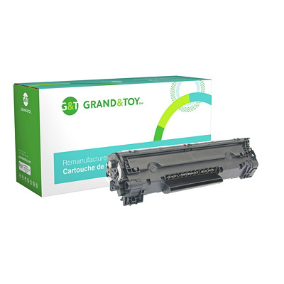 Grand & Toy Compatible LaserJet Toner Cartridge L/JET P1002 P1003 P1004  P1005 (35A) YIELD 1 500  RPL # 97660