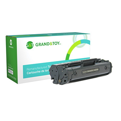 Grand & Toy Reman Toner HP C4092A Black Standard Yield 1100 & 3200 SERIES 2 500 PG YLD  RPL SKU# 99234