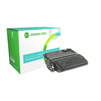 Grand & Toy Reman Toner HP Q1338A Black Standard Yield HP 4200 SERIES 12 000 PG YLD  RPL SKU# 99257