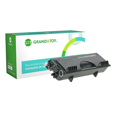 Grand & Toy Remanufactured Brother Black Standard Yield Toner Cartridge (TN430)  4100 4750 8300 8500 8600 4070N 3 000 PG YLD  RPL SKU# 97663