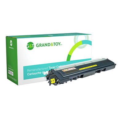Grand & Toy Compatible LaserJet Toner Cartridge YELLOW HL3040 MFD9010 9320 1 400 PG YLD  RPL SKU# 98385