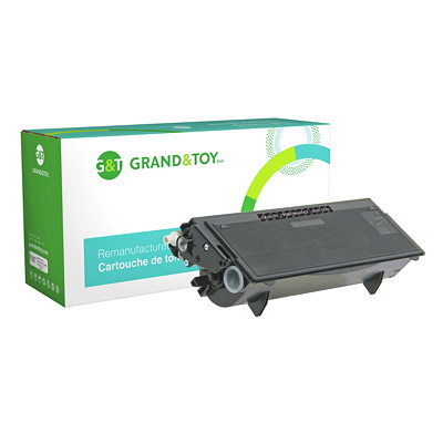 Grand & Toy Remanufactured Brother Black Standard Yield Toner Cartridge (TN540) DCP-8040; HL-5140; MFC-8120 PAGE YIELD 3 500  RPL # 99639
