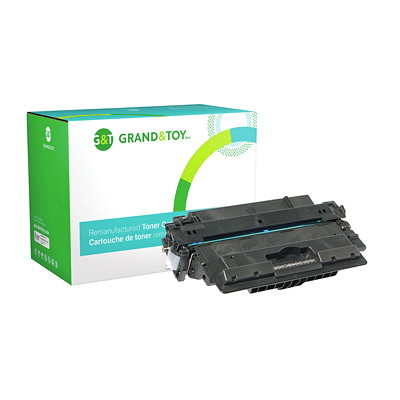 Grand & Toy Compatible Laser Toner Cartridge M712 (M712N  M712DN  M712XH) YIELD 17500 (CF214X)