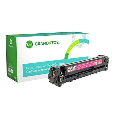 Grand & Toy Reman Toner HP CF213A Magenta Standard Yield HP L/J PRO 200 COLOR M251N M251NW (131A); YLD 1 800
