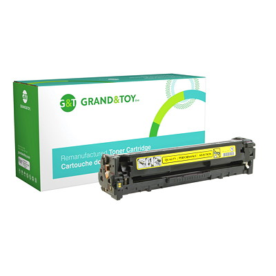 Grand & Toy Compatible Laser Toner Cartridge HP L/J PRO 200 COLOR M251N M251NW (131A); YLD 1 800