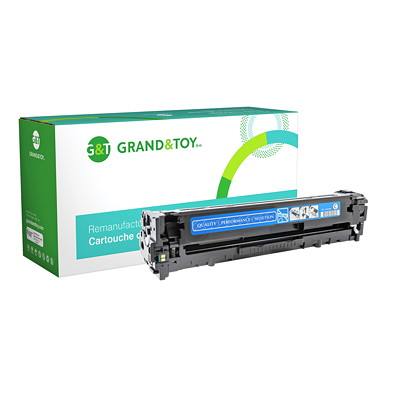 Grand & Toy Compatible LaserJet Toner Cartridge COLOR L/J PRO CM1415  CP1525NW (128A) YIELD 1 300 RPL # 97982