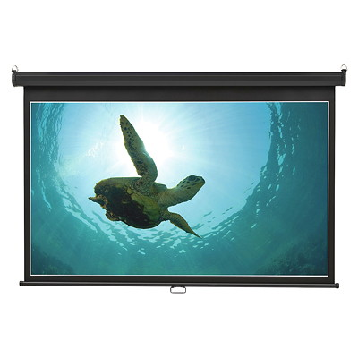 "Quartet Wide-Format Wall Mountable Projection Screen WALL MOUNT - 45"" X 80"""