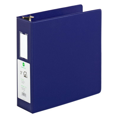 "Grand & Toy Economy Letter-size (8 1/2"" x 11"") D-Ring Binder 800SHTS CAP."